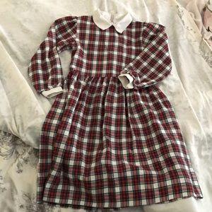 Plaid Girls Dress
